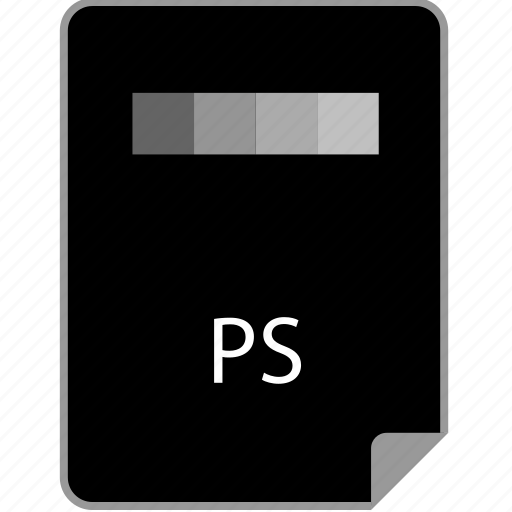 extension, page, ps icon