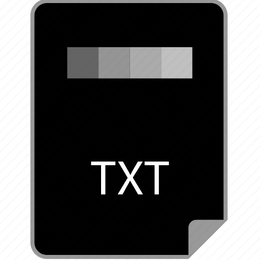 extension, page, text, txt icon