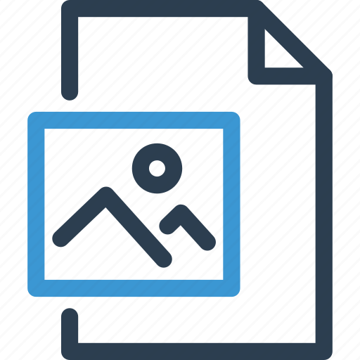 file, format, image, list, photo, picture, type icon