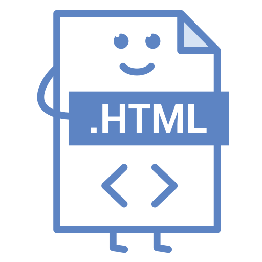 computer, document, file, format, html, type, web icon