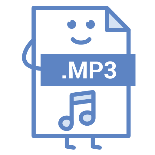 computer, document, file, format, mp3, music, type icon