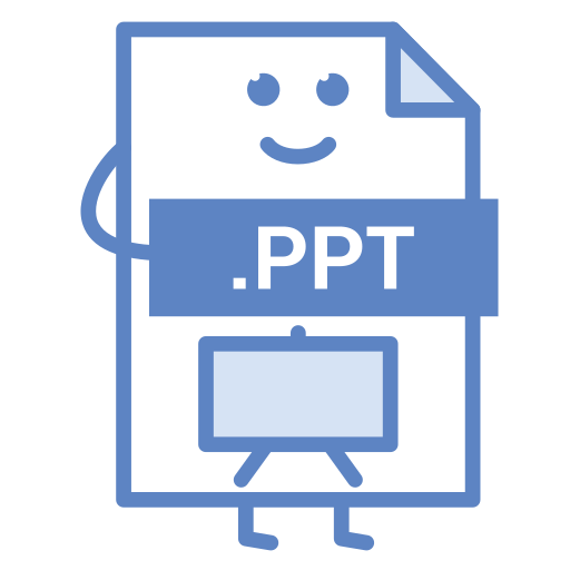 computer, document, file, format, powerpoint, ppt, type icon