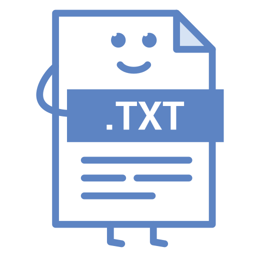 computer, document, file, format, txt, type icon
