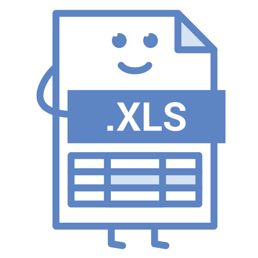 computer, document, excel, file, format, type, xls icon