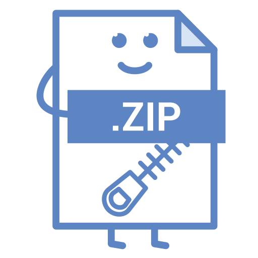 compressed, computer, document, file, format, type, zip icon
