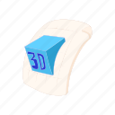 cartoon, document, extension, file, format, type icon