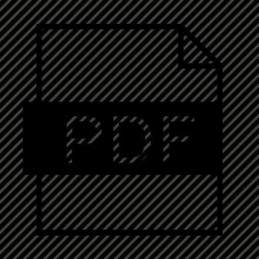 adobe acrobat, document, file formats, file type, filename extension, pdf, pdf format icon