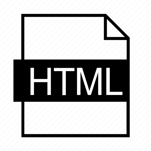 document, file formats, file type, filename extension, htm file, html, html format icon