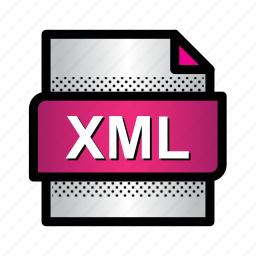 code, data, extension, file, format, type, xml icon
