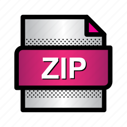 archive, compressed, extension, file, format, type, zip icon