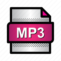 audio, extension, file, format, mp3, music, type icon
