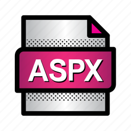 aspx, document, extension, file, files, format, type icon