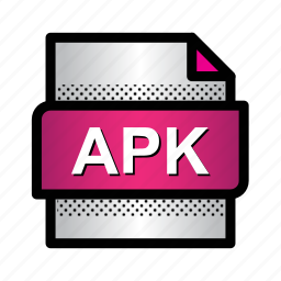 android, apk, document, extension, file, format, type icon