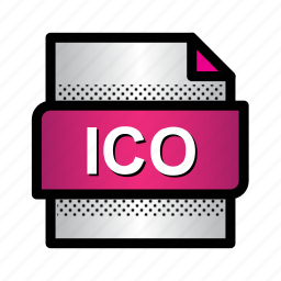 extension, file, files, format, ico, type icon