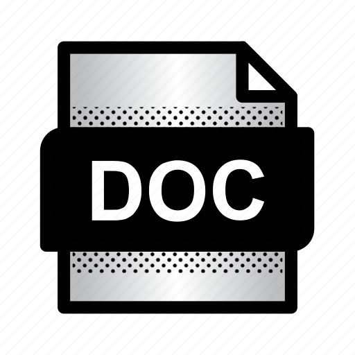 doc file, document, extension, file, format, type, word doc icon