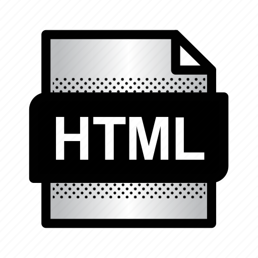 extension, file, format, htm, html, html document, type icon