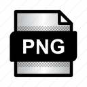 extension, file, format, png file, png format, png image, type icon