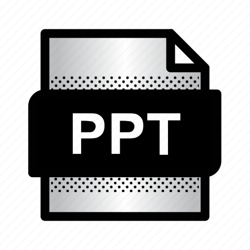 extension, file, format, powerpoint, ppt, presentation, type icon