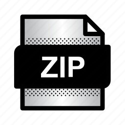 compression, extension, file, format, type, zip, zip archive icon