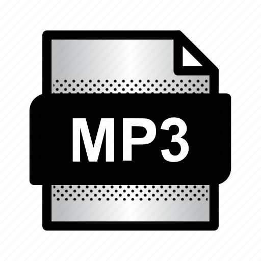 document, extension, file, format, mp3, mp3 format, type icon