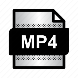 extension, file, format, mp4, mpeg, type, video format icon