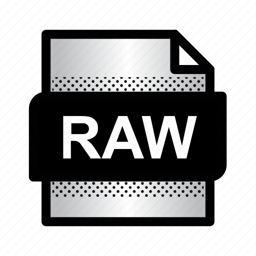 extension, file, files, format, raw image, raw photo, type icon