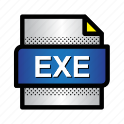app, document, exe, extension, file, format, type icon