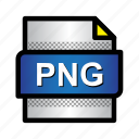extension, file, format, png file, png format, type icon