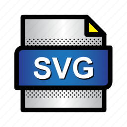 extension, file, folder, format, svg format, type, vector graphics icon
