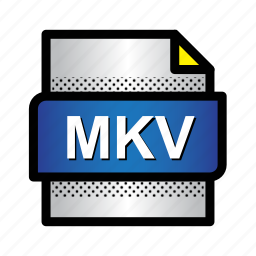 extension, file, format, mkv, movie, type, video icon