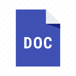 doc, document, file, text, word icon