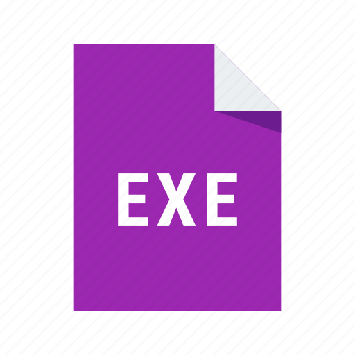 application, exe, extension, file, format, windows icon