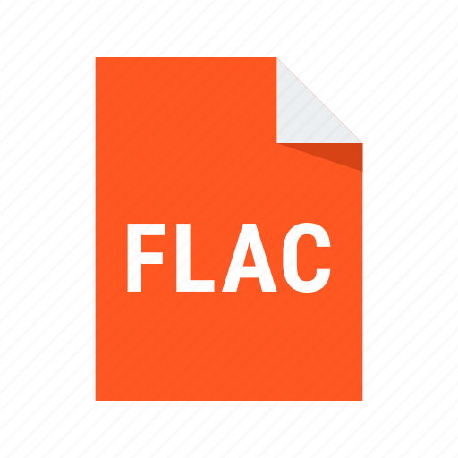 audio, extension, file, flac, sound icon