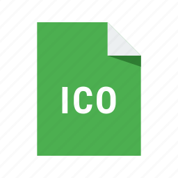 extension, file, format, ico, icon icon