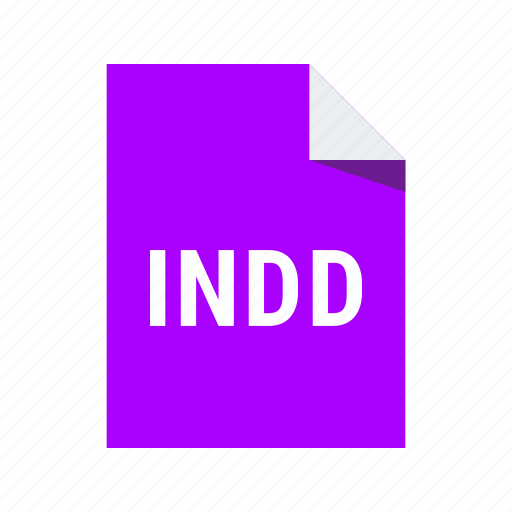 adobe, extension, file, format, indd, indesign icon