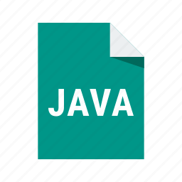 extension, f, file, java, programming icon