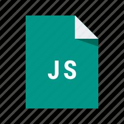 code, extension, file, javascript, js, programming icon