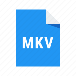 extension, file, format, mkv, video icon