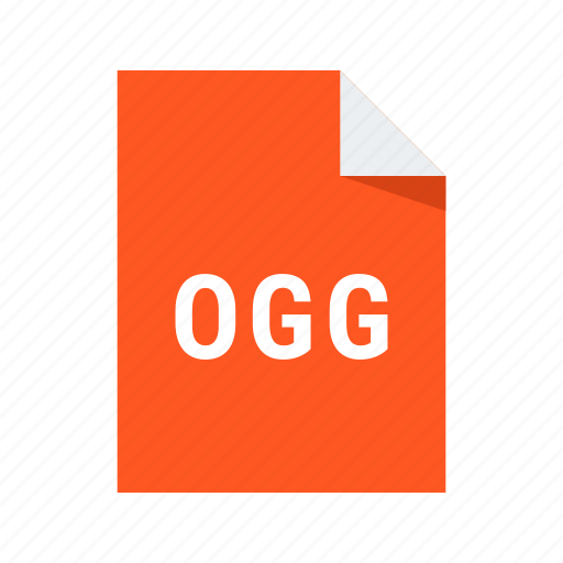 audio, extension, file, format, ogg, sound icon
