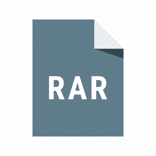 archive, extension, file, rar, zip icon