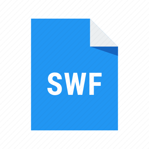 adobe, animation, extension, file, flash, format, swf, video icon