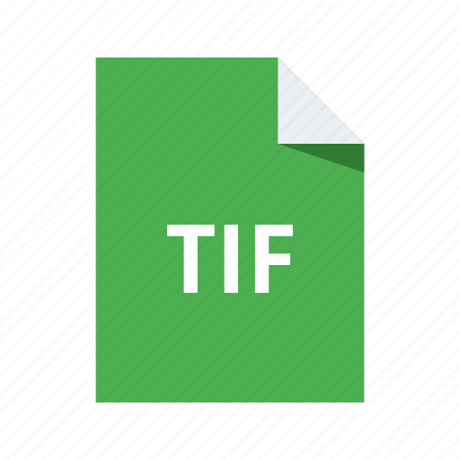 extension, file, format, image, tif icon