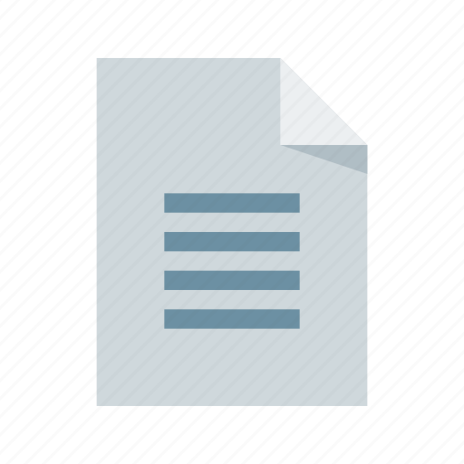 document, extension, file, format, text icon