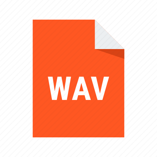 audio, extension, file, sound, wav icon