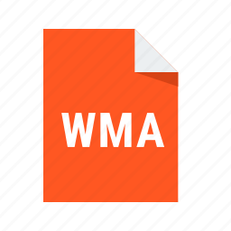 extension, file, format, wma icon