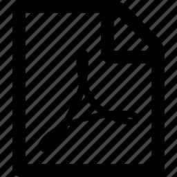 file, pdf, pdf file icon