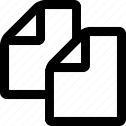 copy, files icon