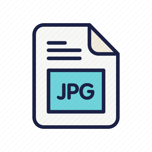 document, extension, file, jpg, picture, type icon