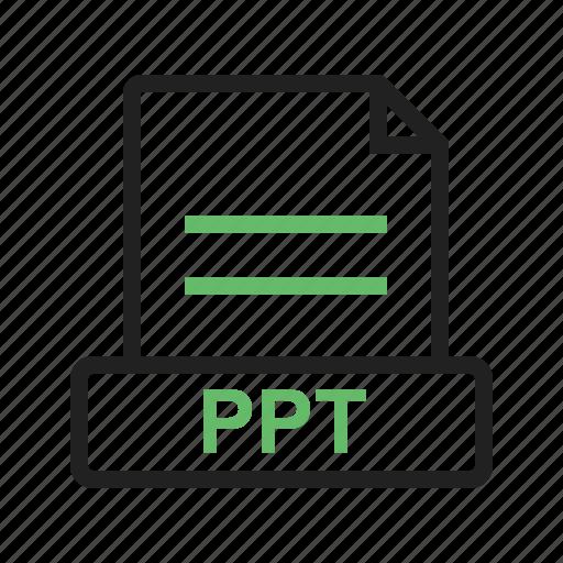 file, information, ppt, presentation, template, white icon