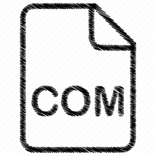 com, document, file, format, type icon